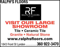 Print Ad of Ralph's Floors