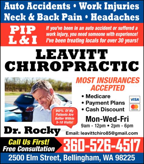 Print Ad of Leavitt Rocky Dc