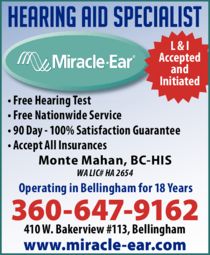 Print Ad of Miracle Ear