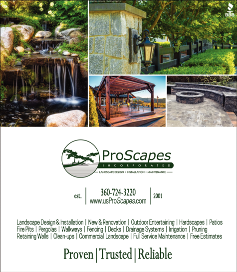 Yellow Pages Ad of Proscapes Inc