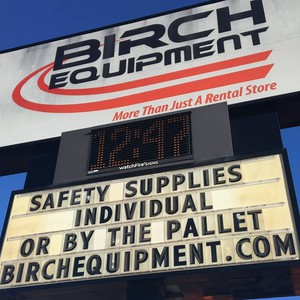 Photo uploaded by Birch Equipment Rental & Sales