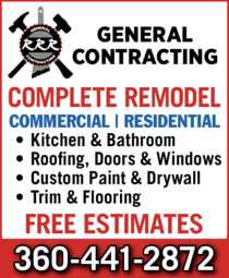 Yellow Pages Ad of Rrr Painting & Construction