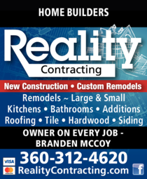 Print Ad of Reality Contracting