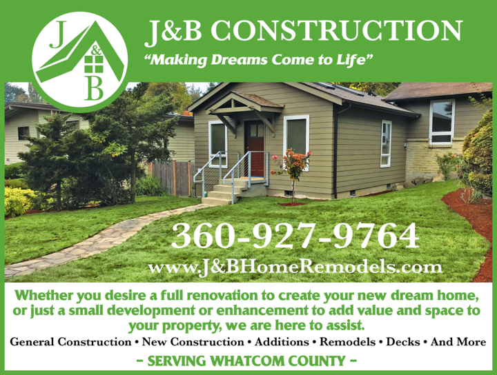 Yellow Pages Ad of J & B Construction