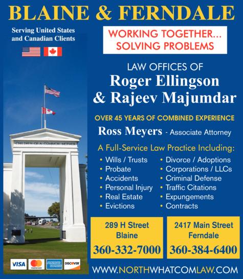 Print Ad of Whatcom Law Group