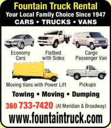 Print Ad of Fountain Rental & Leasing