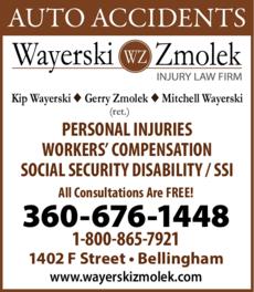 Print Ad of Wayerski Zmolek Injury Law Firm Pllc