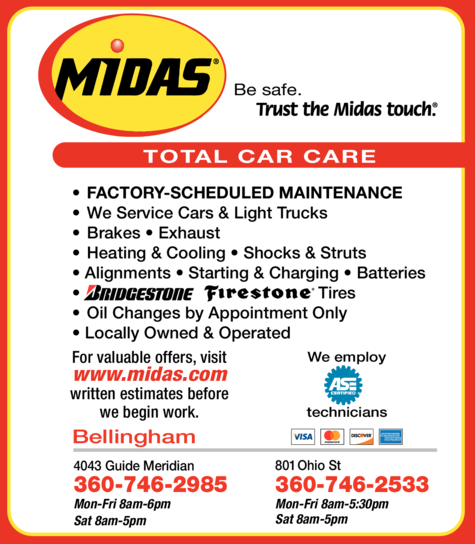 Print Ad of Midas Auto Service Experts
