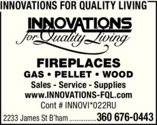 Print Ad of Innovations For Quality Living