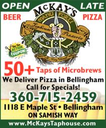 Print Ad of Mckay's Taphouse & Pizzeria